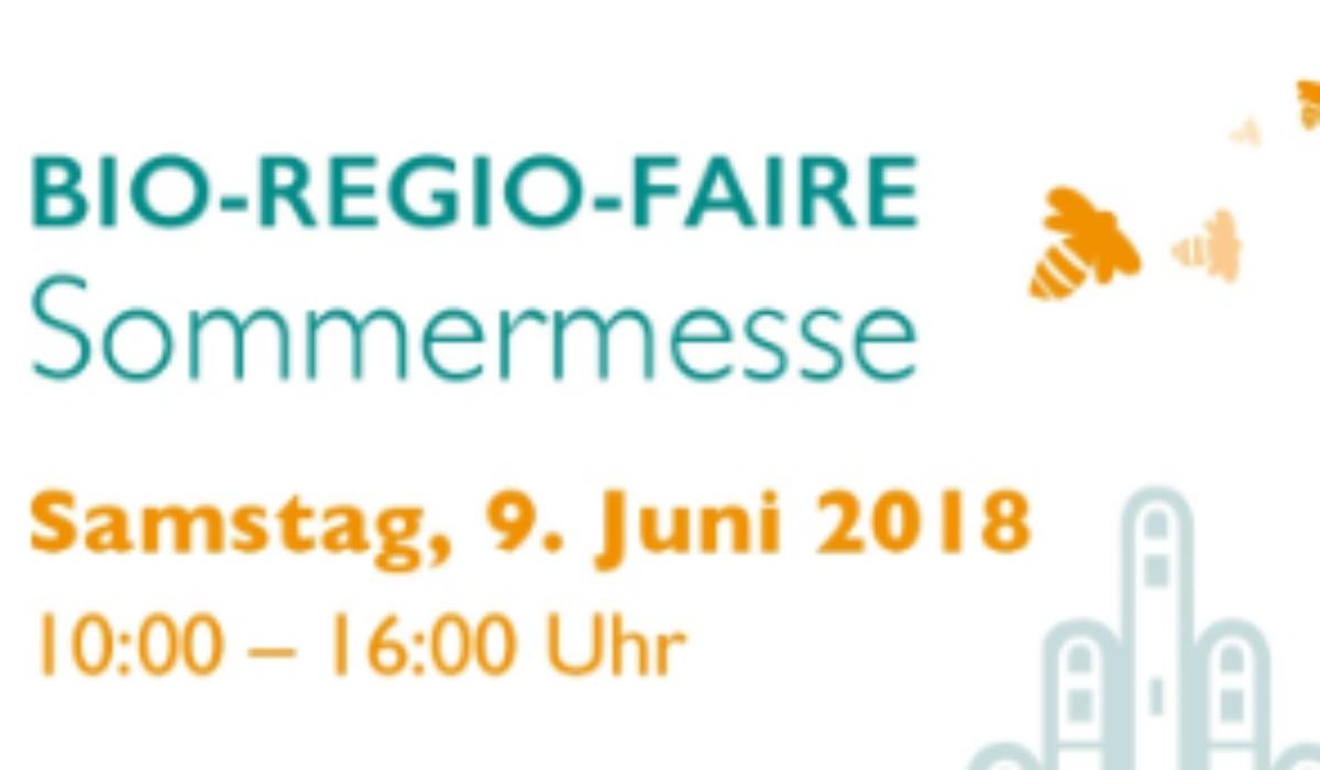 Bio-Regio-Faire Sommermesse 2018 in Darmstadt