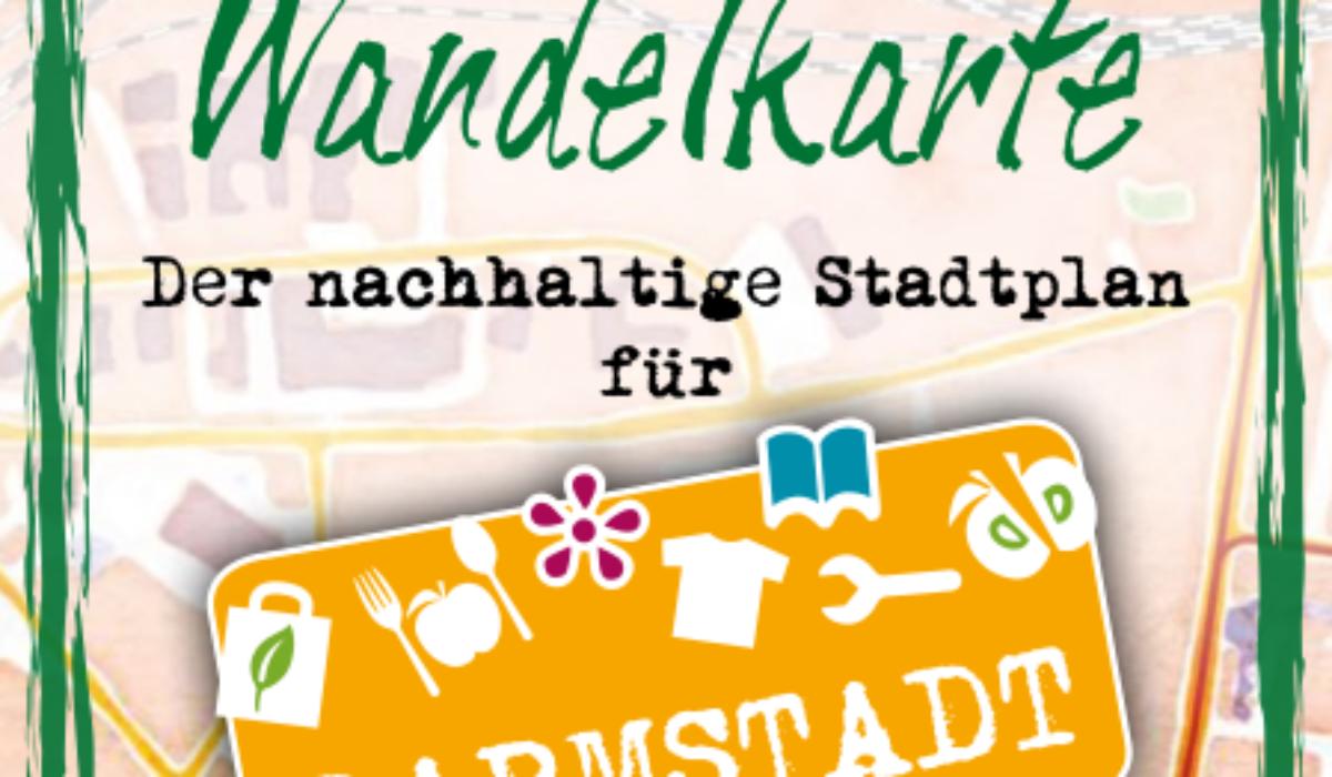 Wandelkarte Darmstadt