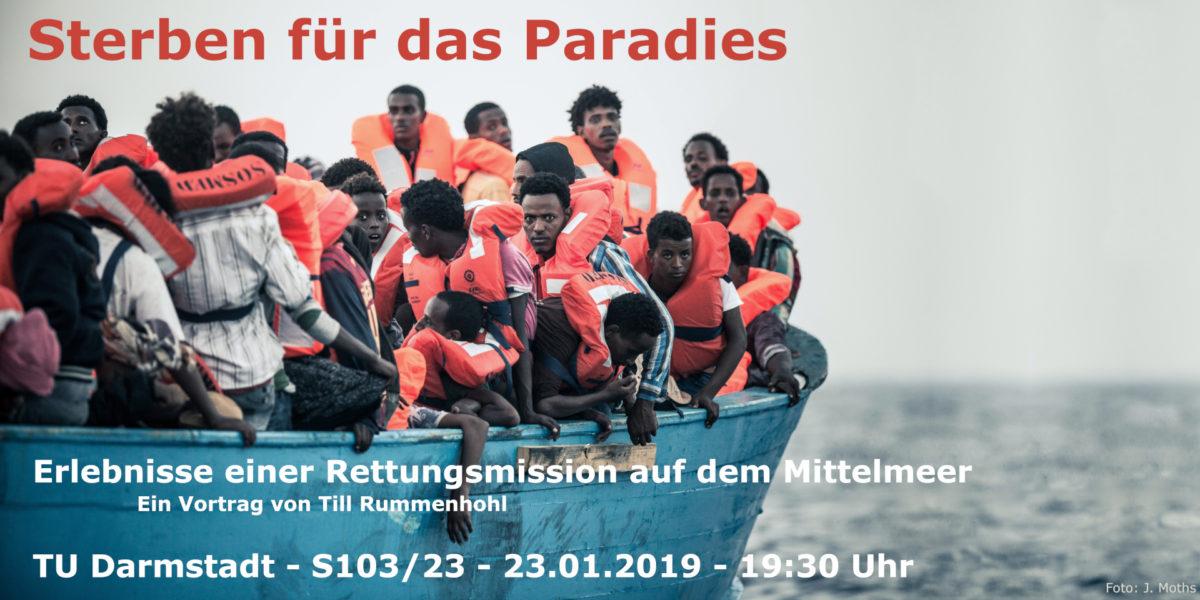 Sterben für das Paradies – Vortrag von Till Rummenhohl